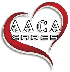 Dog with LOGO of AACACARES